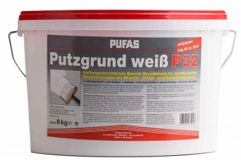 Pufas Putzgrund weiß - 8 kg
