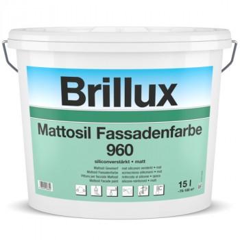 Mattosil Fassadenfarbe 960 P - PG 44 HBW 25 bis 64,9 - 10 L