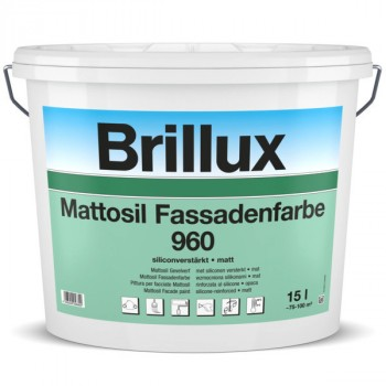 Mattosil Fassadenfarbe 960 - PG 55 HBW bis 24,9 - 2.5 L