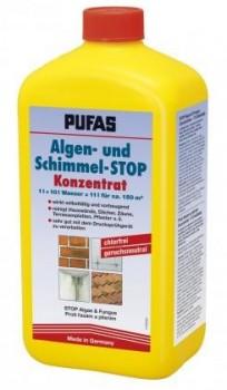Pufas Algen- und Schimmel-STOP - Konzentrat - 1 L