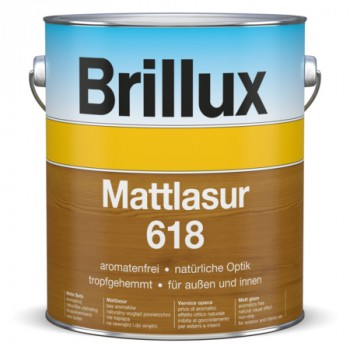 Brillux Mattlasur 618 Protect - Graphit 75.LA.02 - 3 L