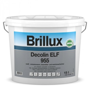 Brillux Decolin ELF 955 weiß - 10 L