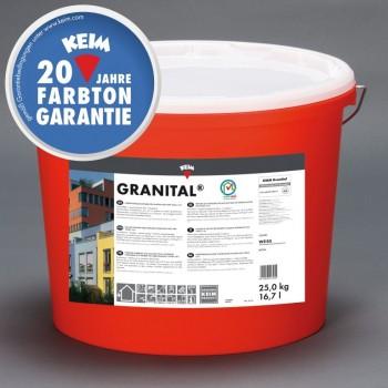 KEIM Granital weiß - 2.5 kg