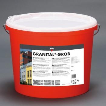 KEIM Granital grob weiß - 2.5 kg