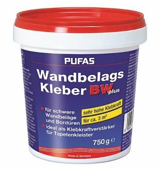 Pufas Wandbelags- und Bordürenkleber - 750g