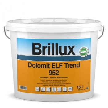 Brillux Dolomit ELF Trend 952 trendweiß - 15 L