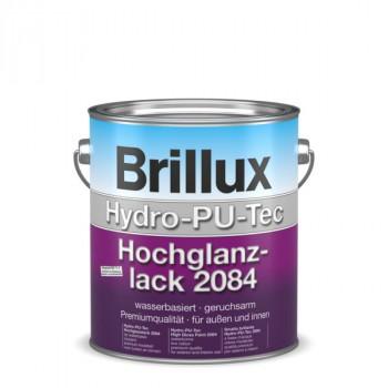 Brillux Hydro-PU-Tec Hochglanzlack 2084 weiß - 3 L
