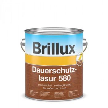 Brillux Dauerschutzlasur 580 Protect - Nussbaum - 5 L