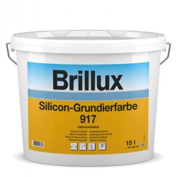 Brillux Silicon-Grundierfarbe 917 weiß - 15 L - Protect