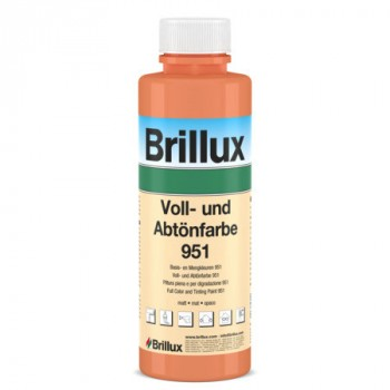 Brillux Voll- und Abtönfarbe 951 - rose - 0.5 L