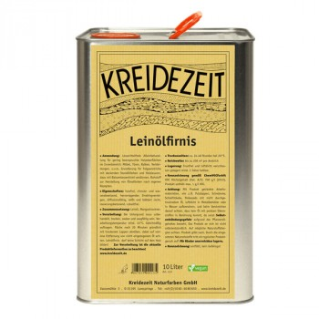 Kreidezeit Leinölfirnis - 10 L