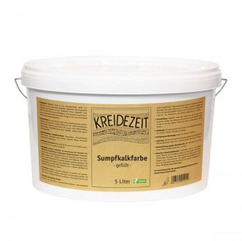 Kreidezeit Sumpfkalkfarbe - gefüllt - 5 L