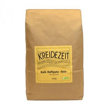 Kreidezeit Kalk Hafputz fein - 25 kg