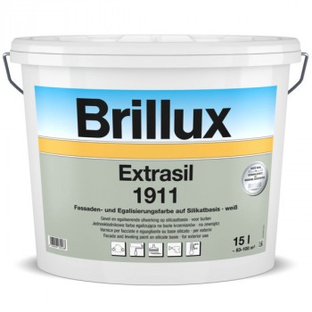 Brillux Extrasil 1911 weiß - 15 L