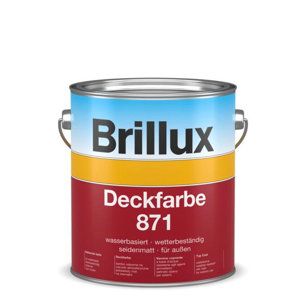 brillux deckfarbe 871 weiss bdf871. Black Bedroom Furniture Sets. Home Design Ideas