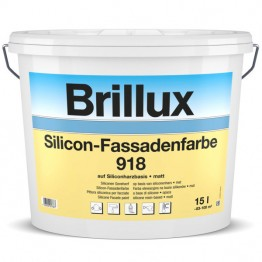 Brillux Silicon-Fassadenfarbe 918 P - PG 33 HBW ab 65 - 15 L
