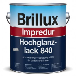 Brillux Impredur Hochglanzlack 840 weiß - 3 L