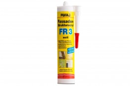 Pufas Fassaden Strukturacryl FR 3 Weiß - 310 ml