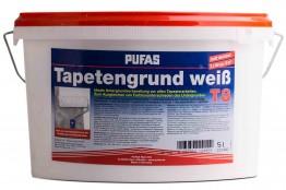 Pufas Tapetengrund weiß - 5 L