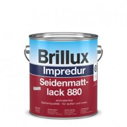 Brillux Impredur Seidenmattlack 880 weiß - 0.75 L