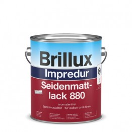Brillux Impredur Seidenmattlack 880 farbig