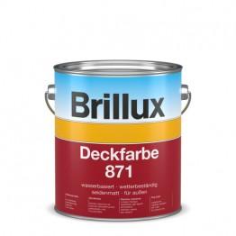 Brillux Deckfarbe 871 weiß - 3 L