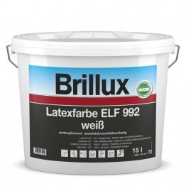 Brillux Latexfarbe ELF 992 weiß - 15 L
