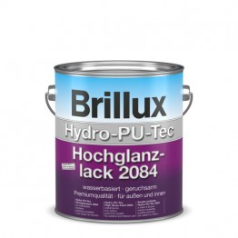 Brillux Hydro-PU-Tec Hochglanzlack 2084 weiss