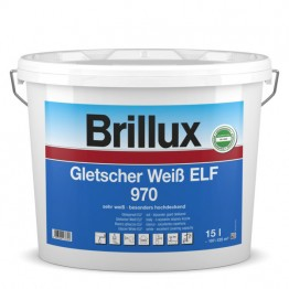 Brillux Gletscher Weiß ELF 970 trendweiss