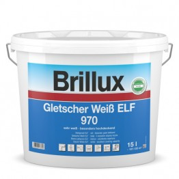Brillux Gletscher Weiß ELF 970 weiß - 15 L