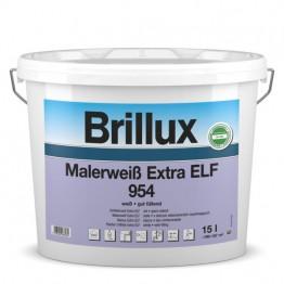 Brillux Malerweiß Extra ELF 954 weiß - 10 L