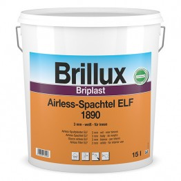 Brillux Briplast Airless Spachtel ELF 1890 Eimerware