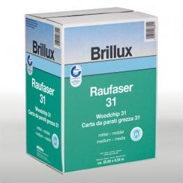 Brillux Raufaser 31 mittel, 125 x 0.75 m